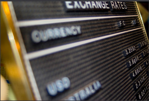 How To Read A Currency Exchange Board