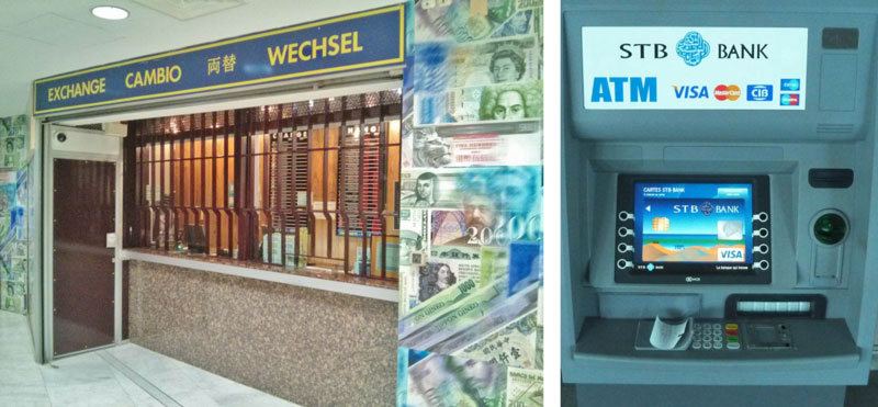 exchange office VS ATM